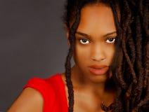 älskvärt nigerianskt för flicka Royaltyfri Fotografi
