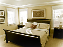 älskvärt sovrum Royaltyfri Fotografi