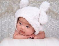 älskvärt spädbarn arkivbild