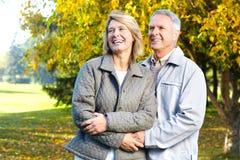 Ältere Älterpaare Stockfotos