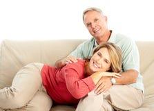 Ältere Älterpaare Lizenzfreie Stockfotos
