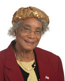 Ältere Afroamerikaner-Dame Lizenzfreies Stockfoto