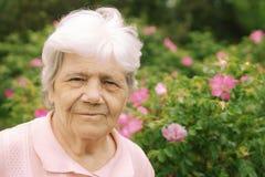 Ältere Dame Lizenzfreie Stockfotos