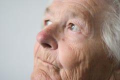 Ältere Dame Stockfotos