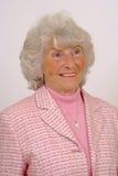 Ältere Dame Smiling Stockbild