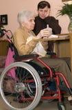 Ältere Frau. Stockfotografie