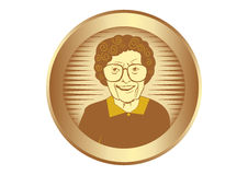 Ältere Frauen Lizenzfreies Stockfoto