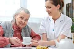 Pflegeheim stockfoto