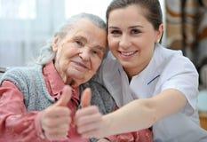 Pflegeheim stockbild