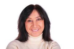 Ältere Frauennahaufnahme Lizenzfreies Stockbild