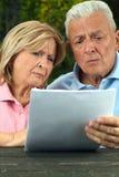 Ältere gelesen Stockbilder