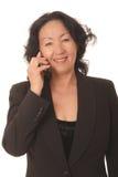 Ältere Geschäftsfrau 21 Stockbild