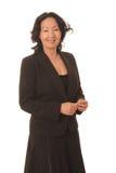 Ältere Geschäftsfrau 5 Lizenzfreie Stockfotos