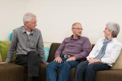 Ältere Gruppe Lizenzfreie Stockfotografie