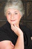 Ältere italienische Frau lizenzfreies stockfoto