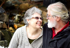 Ältere Liebe Stockfotografie
