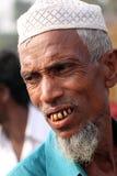 Ältere Menschen Lächeln stockfoto