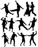 Ältere Menschen Tanzen Lizenzfreie Stockbilder