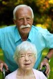 Ältere Paare Lizenzfreie Stockfotos