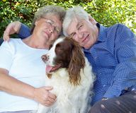 Ältere Paare, Lizenzfreies Stockfoto