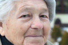 Ältere Person Stockfotografie