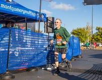 Ältere Personen Läufer 80 jähriger 5k Stockfotografie