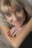 Ältere Porträt-Schönheit stockfoto