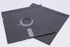 Ältere Rechnergeneration der Diskette stockfoto