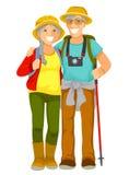 Ältere Reisende Lizenzfreie Stockbilder