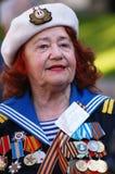 Ältere Veterane Lizenzfreie Stockfotografie