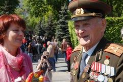 Ältere Veterane Lizenzfreie Stockbilder