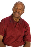 Älterer Afroamerikanermann. lizenzfreies stockbild
