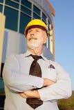 Älterer Architekt Lizenzfreies Stockfoto