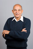 Älterer asiatischer indischer Mann Lizenzfreies Stockbild