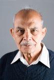 Älterer asiatischer indischer Mann Stockfotos