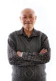 Älterer asiatischer Mann stockfotos
