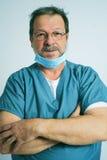 Älterer Doktor Stockfoto