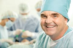 Älterer Doktor Lizenzfreies Stockfoto