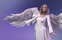 Älterer Engel stockbilder