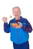 Älterer Fleisch fressender Salat Lizenzfreies Stockbild