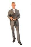 Älterer Geschäftsmann Lizenzfreies Stockfoto