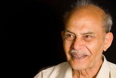 Älterer indischer Mann Lizenzfreie Stockfotos