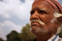 Älterer indischer Mann Stockbild