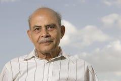 Älterer indischer Mann Stockfotografie
