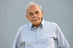 Älterer indischer Mann Lizenzfreies Stockfoto