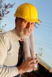 Älterer Ingenieur Stockfoto