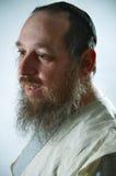Älterer jüdischer Mann Stockbild