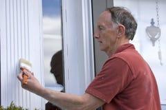 Älterer Maler Lizenzfreies Stockfoto