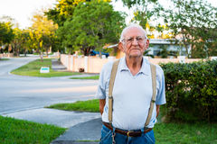 Älterer Mann Stockfoto