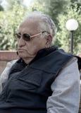 Älterer Mann 90 Jahre, Porträt Stockfotografie
